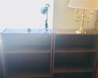 (2) Small Bookcases