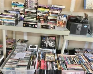 DVD's / VHS Tapes