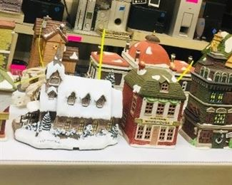 Dept. 56 Christmas Village Houses