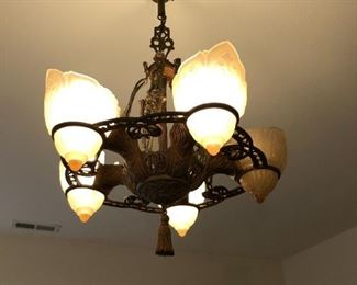 Early 1900's light