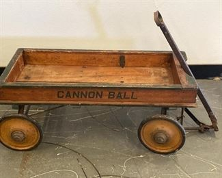 1924  Cannon Ball Coaster Wagon