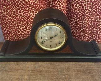 Antique Camel Back Clock Works Great