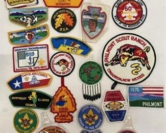 Vintage Boys Scout Collection Patches MORE