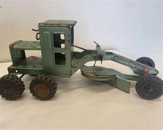 Vintage Lumar Marx Toys Power Grader & Others