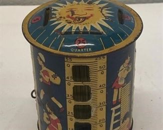 Vintage Childs Coin Bank