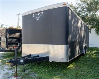"Enclosed Trailer 7'20"" w/side door"