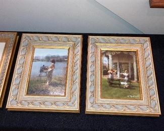 Anthony P. Monica impressionistic photographic framed prints.