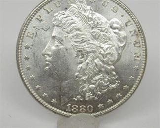 Yr: 1880-P Origin: US Denomination Morgan Silver Dollar