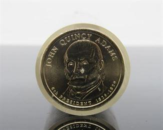 Yr: 2008 Denomination John Quincy Adam Series: Dollar Coins