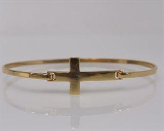 Type: Bangle Metal: Yellow Gold