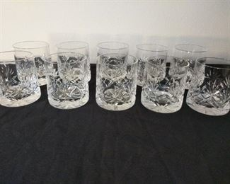 10 old fashion Tumbler Crystal