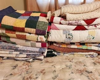 LOTS OF QUILTS!!!