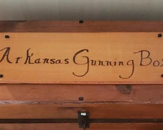 Arkansas Gunning Box handmade