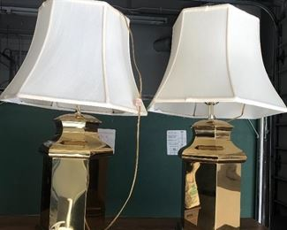 A Pair of Lamps, There are Several Lamps throughout the house.