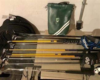 Great GOLF ITEMS, Bags, Clubs, Drivers, Training Tools and MORE! Ping, Callaway and MORE!