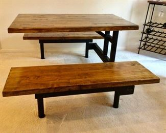 Picnic Style Dining Table $220.00.  Call NOW for your appt.