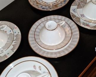 Mid-Century tea cups $5 up to $10.00
