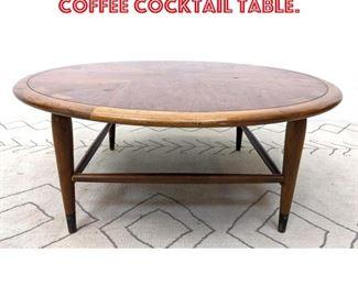 Lot 2018 LANE American Modern Coffee Cocktail Table.