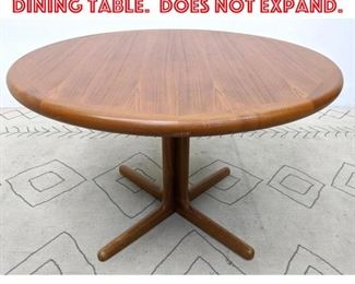 Lot 2021 Danish Modern Teak Dining Table. Does not expand.