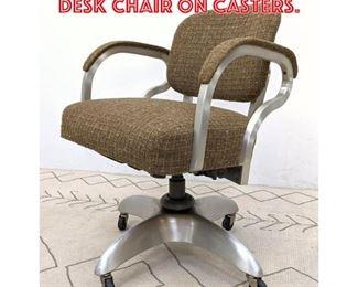 Lot 2024 GOODFORM Aluminum Desk Chair on Casters.