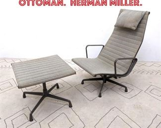 Lot 2068 EAMES Lounge Chair and Ottoman. HERMAN MILLER.