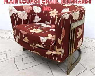Lot 2121 Mid Century Modern FLAIR Lounge Chair. Bernhardt ind.