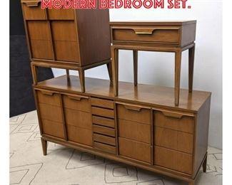 Lot 2123 BASIC WITZ American Modern Bedroom Set.