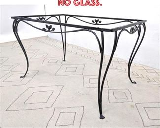 Lot 2150 Iron Patio Table Frame. No glass.