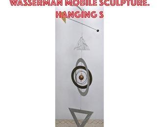 Lot 2160 Extra Large MYRON WASSERMAN Mobile Sculpture. Hanging s