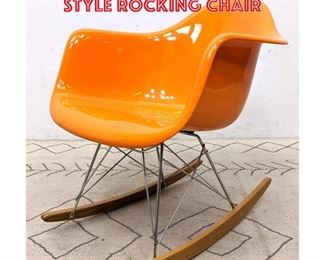 Lot 2171 Contemporary Eames Style Rocking Chair
