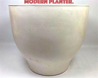 Lot 2195 Large Mid Century Modern Planter.
