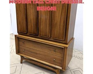 Lot 2209 KENT COFFEY American Modern Tall Chest Dresser. INSIGNI