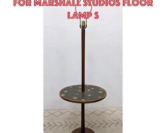 Lot 2218 JANE AND GORDON MARTZ for MARSHALL STUDIOS Floor Lamp S