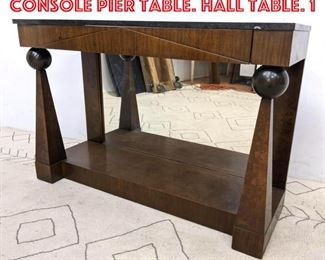 Lot 2226 ROM WEBER Marble Top Console Pier Table. Hall Table. 1