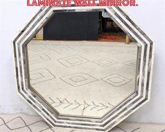 Lot 2227 Contemporary Stone Laminate wall Mirror.