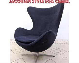 Lot 2268 Contemporary Arne Jacobsen Style Egg Chair.