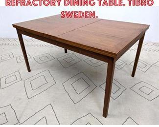 Lot 2273 SKARABORGS Teak Refractory Dining Table. TIBRO SWEDEN.