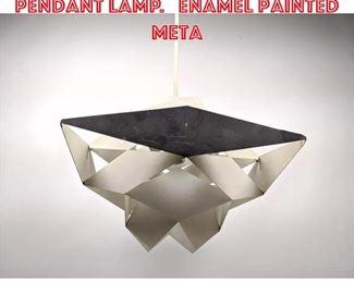 Lot 2318 Preben Dahl Symfoni Pendant Lamp. Enamel Painted Meta