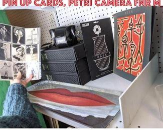 Lot 2462 Paul Klee, Man Ray and pin up cards, Petri camera FNR m