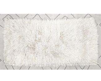 Lot 2502 4 11x2 4 Tan shag carpet