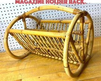 Lot 2515 Franco Albini Style Magazine Holder Rack.