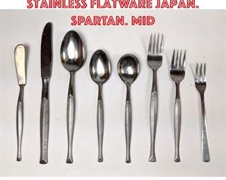 Lot 2601 Stanley Roberts Stainless Flatware Japan. SPARTAN. Mid