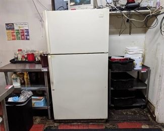 Whirlpool Refrigerator, Contents Not Included