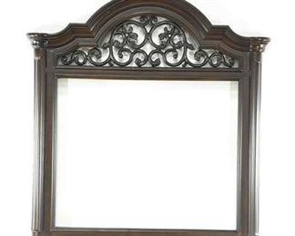 Large Dark Wooden Frame
