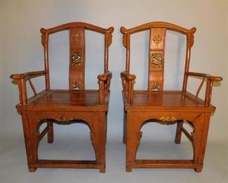 Pr. Chinese chairs