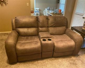 electric ,love seat  recliners
