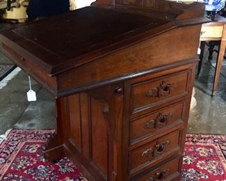 Incredible desk - about 1860 = beautiful condition
