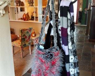 "Handmade handbags by Suzanne ""Eden"" Murphy."