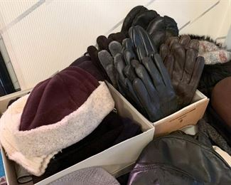 Outerwear - Hats & Gloves (a sampling is shown here)