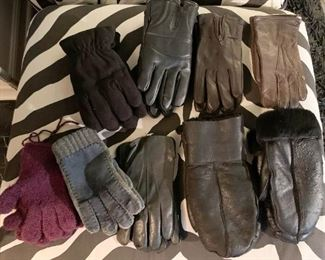 Outerwear - Gloves (a sampling is shown here)
